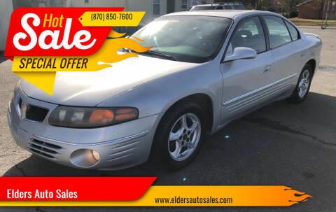 2001 Pontiac Bonneville for sale at Elders Auto Sales in Pine Bluff AR