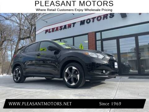 2018 Honda HR-V for sale at Pleasant Motors in New Bedford MA