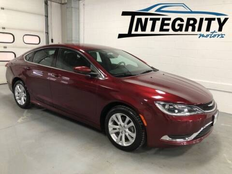 2017 Chrysler 200 for sale at Integrity Motors, Inc. in Fond Du Lac WI