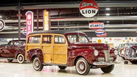 1941 Ford Woody Wagon for sale at California Cadillac & Collectibles in Los Angeles CA