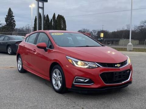 2017 Chevrolet Cruze for sale at Betten Baker Preowned Center in Twin Lake MI
