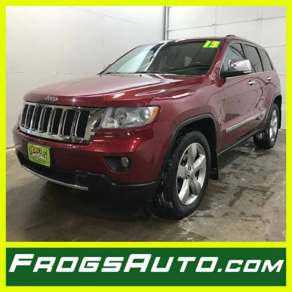 2013 Jeep Grand Cherokee for sale at Frogs Auto Sales in Clinton IA