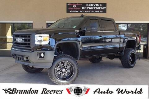 2015 GMC Sierra 1500 for sale at Brandon Reeves Auto World in Monroe NC