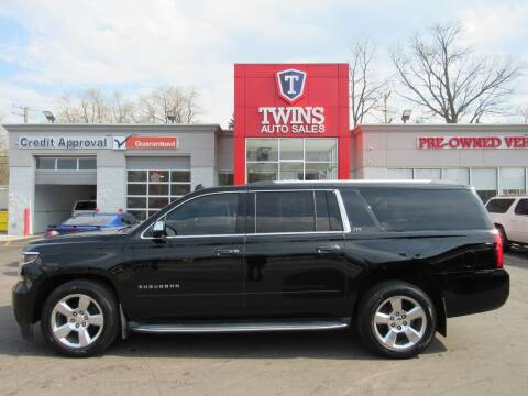2015 Chevrolet Suburban for sale at Twins Auto Sales Inc - Detroit in Detroit MI