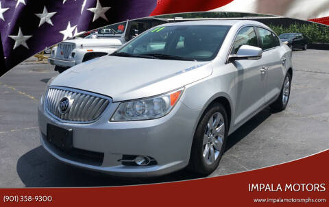 2011 Buick LaCrosse for sale at IMPALA MOTORS in Memphis TN