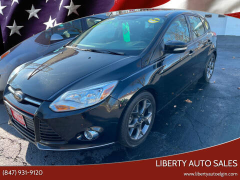 2014 Ford Focus for sale at Liberty Auto Sales in Elgin IL