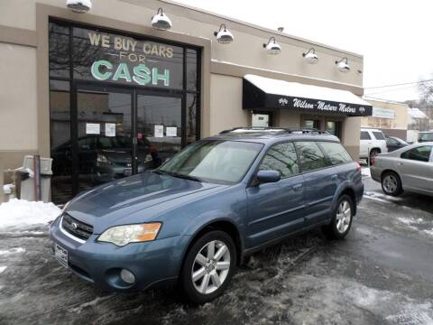 2006 Subaru Outback for sale at Wilson-Maturo Motors in New Haven Ct CT
