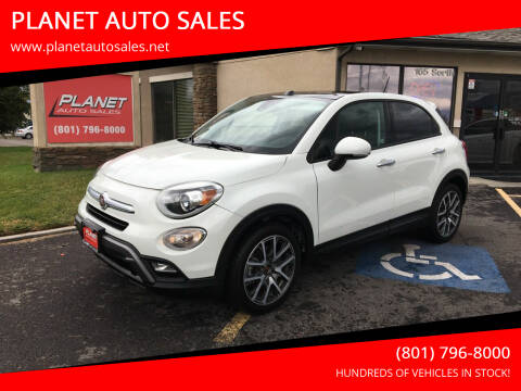 2016 FIAT 500X for sale at PLANET AUTO SALES in Lindon UT