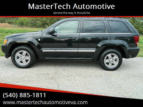 2005 Jeep Grand Cherokee for sale at MasterTech Automotive in Staunton VA