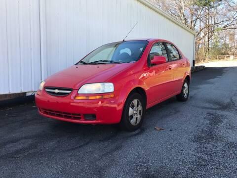 2006 Chevrolet Aveo for sale at ATLANTA AUTO WAY in Duluth GA
