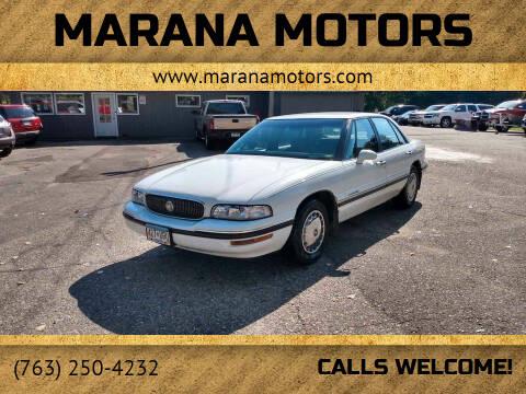 1997 Buick LeSabre for sale at Marana Motors in Princeton MN