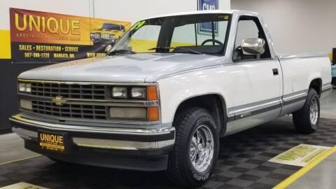 1989 Chevrolet C/K 1500 Series for sale at UNIQUE SPECIALTY & CLASSICS in Mankato MN