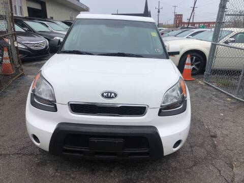 2010 Kia Soul for sale at Six Brothers Auto Sales in Youngstown OH
