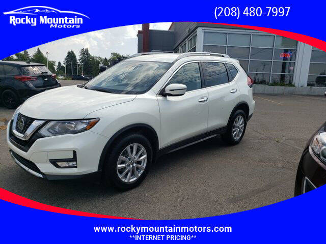 2019 Nissan Rogue for sale at Rocky Mountain Motors in Idaho Falls ID