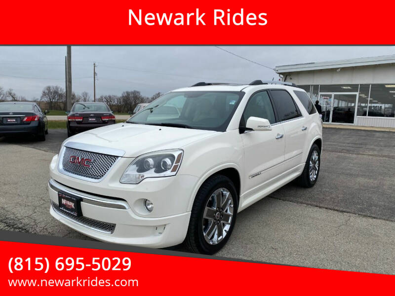 2012 GMC Acadia for sale at Newark Rides in Newark IL