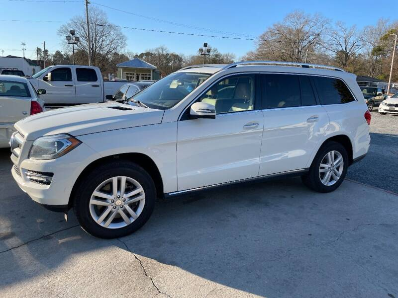 2013 Mercedes-Benz GL-Class for sale at LAURINBURG AUTO SALES in Laurinburg NC
