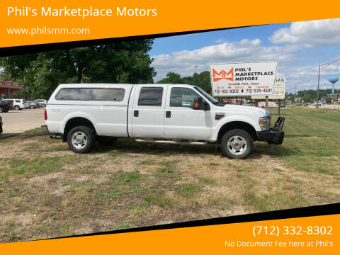 2010 Ford F-350 Super Duty for sale at Phil's Marketplace Motors in Arnolds Park IA