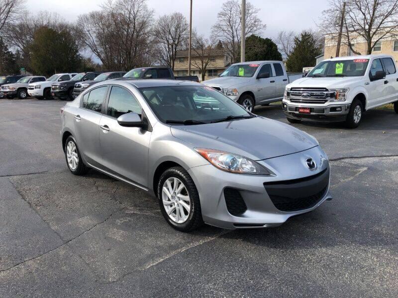 2012 Mazda MAZDA3 for sale at WILLIAMS AUTO SALES in Green Bay WI