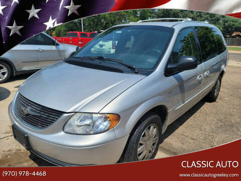 2004 Chrysler Town and Country for sale at Classic Auto in Greeley CO
