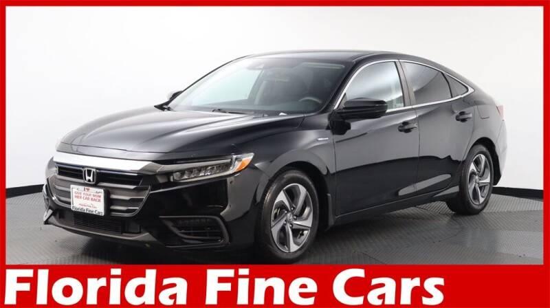 2019 Honda Insight for sale at Florida Fine Cars - West Palm Beach in West Palm Beach FL