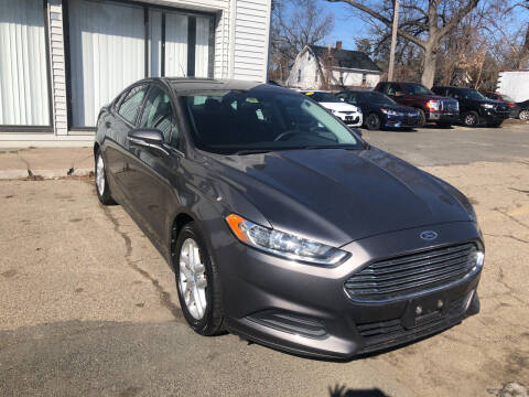 2013 Ford Fusion for sale at Chris Auto Sales in Springfield MA