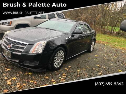 2011 Cadillac CTS for sale at Brush & Palette Auto in Candor NY