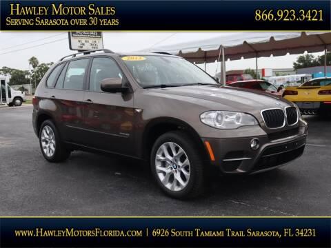 2013 BMW X5 for sale at Hawley Motor Sales in Sarasota FL