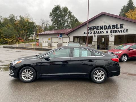 2017 Hyundai Sonata for sale at Dependable Auto Sales and Service in Binghamton NY