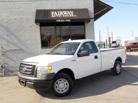 2010 Ford F-150 for sale at FAIRWAY AUTO SALES, INC. in Melrose Park IL