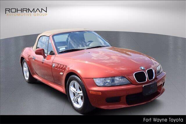 2000 BMW Z3 for sale at BOB ROHRMAN FORT WAYNE TOYOTA in Fort Wayne IN