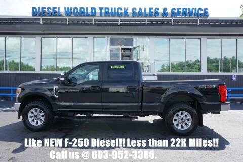 2020 Ford F-250 Super Duty for sale at Diesel World Truck Sales in Plaistow NH