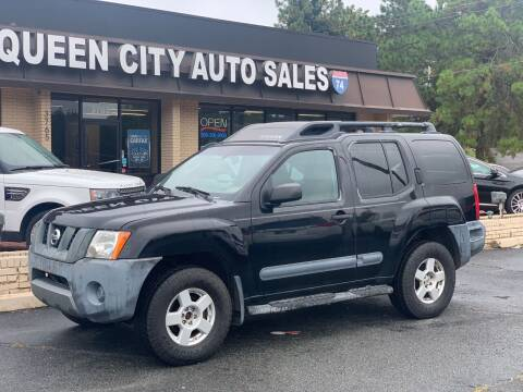 2005 Nissan Xterra for sale at Queen City Auto Sales in Charlotte NC