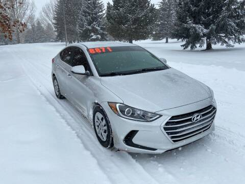 2017 Hyundai Elantra for sale at BELOW BOOK AUTO SALES in Idaho Falls ID
