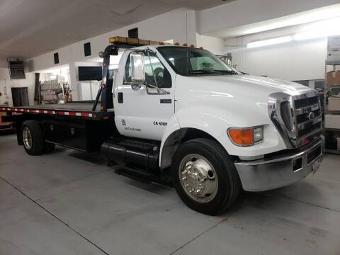 2004 Ford F-650 Super Duty for sale at SPECIALTY VEHICLE SALES INC in Skokie IL