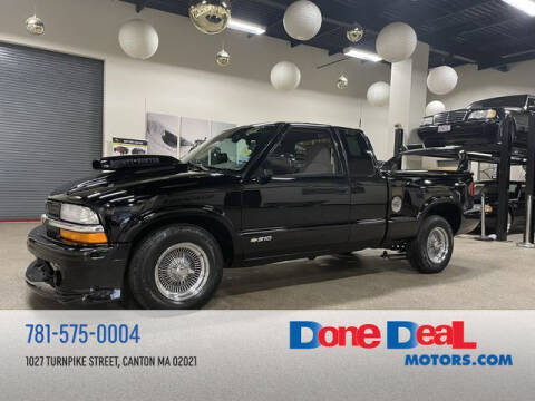 1998 Chevrolet S-10 for sale at DONE DEAL MOTORS in Canton MA