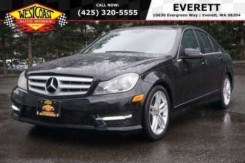 2013 Mercedes-Benz C-Class for sale at West Coast Auto Works in Edmonds WA