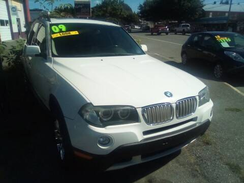 2009 BMW X3 for sale at Payless Car & Truck Sales in Mount Vernon WA