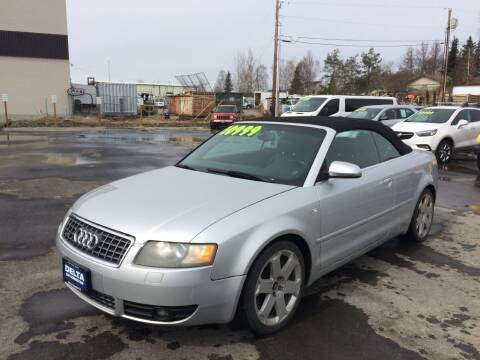 2005 Audi S4 for sale at Delta Car Connection LLC in Anchorage AK