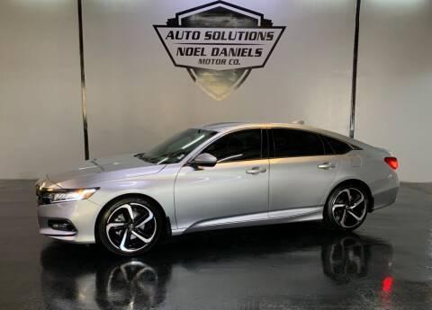 2020 Honda Accord for sale at Noel Daniels Motor Company in Brandon MS