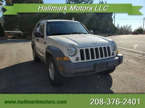 2005 Jeep Liberty for sale at HALLMARK MOTORS LLC in Boise ID
