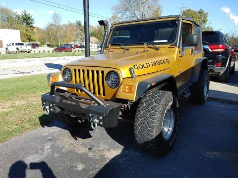 2003 Jeep Wrangler for sale at Cruisin' Auto Sales in Madison IN