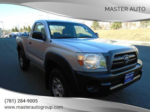 2008 Toyota Tacoma for sale at Master Auto in Revere MA