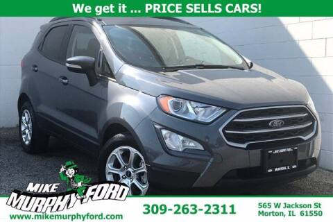 2019 Ford EcoSport for sale at Mike Murphy Ford in Morton IL
