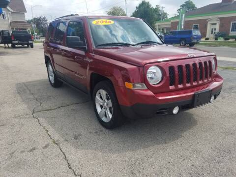 2014 Jeep Patriot for sale at BELLEFONTAINE MOTOR SALES in Bellefontaine OH