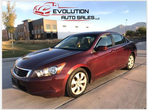 2009 Honda Accord for sale at Evolution Auto Sales LLC in Springville UT