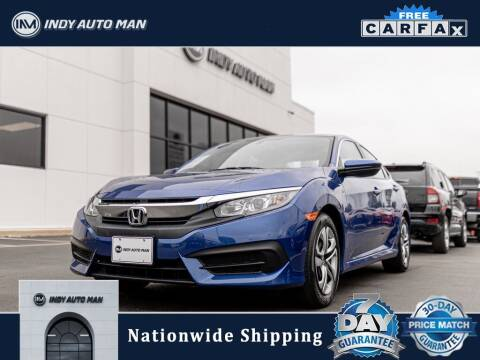 2018 Honda Civic for sale at INDY AUTO MAN in Indianapolis IN