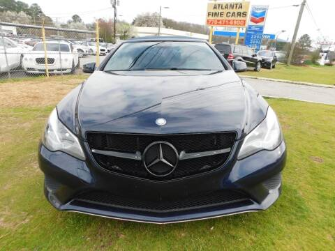 2014 Mercedes-Benz E-Class for sale at Atlanta Fine Cars in Jonesboro GA