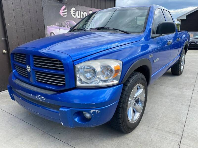 2008 Dodge Ram Pickup 1500 for sale at Euro Auto in Overland Park KS