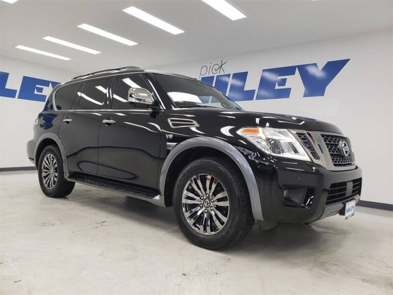 2018 Nissan Armada for sale at HILEY MAZDA VOLKSWAGEN of ARLINGTON in Arlington TX