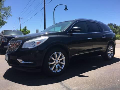 2013 Buick Enclave for sale at Premier Motors LLC in Crystal MN